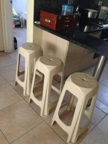 Sillas Plasticas Altas De 71cm Para Meson O Barras