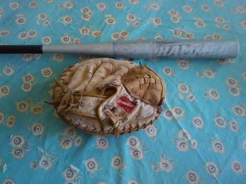 Bate Easton Hammer Y Mascota De Cacher Louisville Slugger