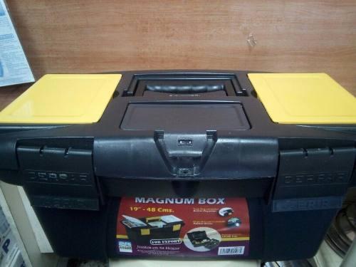 Caja De Herramienta 19 Magnum Box Alfa Hogar