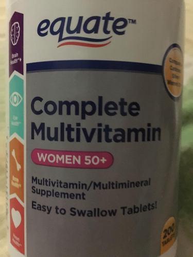 Multi Vitamin Mujer 5o O Mas, Compara A Centrun, Importada