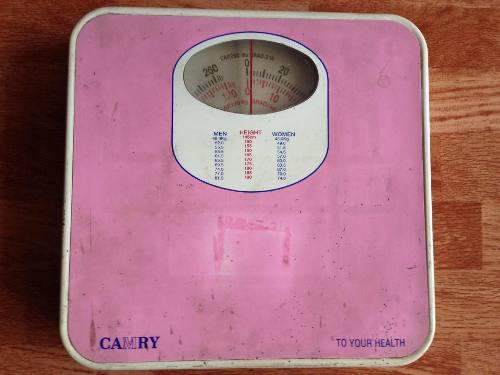 Peso Balanza Personal De Baño Analogo (camry) 120kg