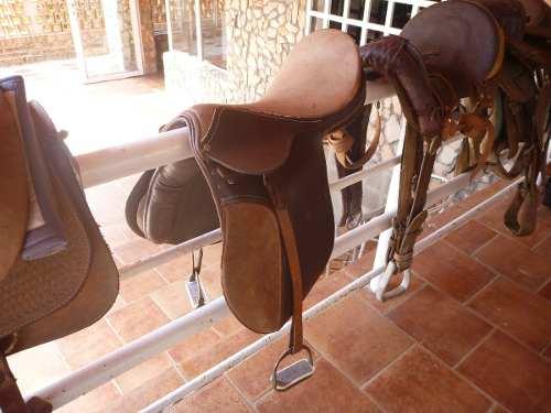 Silla De Equitación Galapagos Americana De Primera