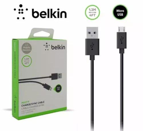 Cable Belkin Micro Usb Samsung Certificado 1.2mts