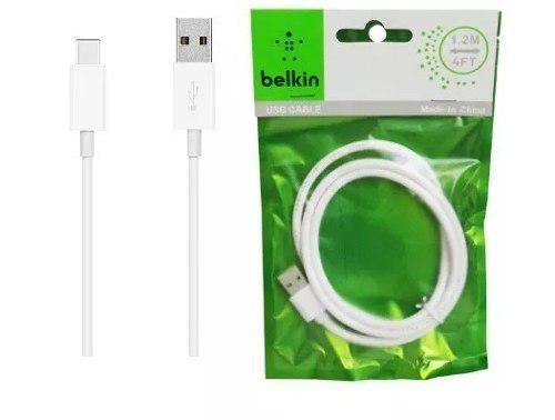 Cable Micro Usb Belkin Celular Samsung Blu 1.2m Carga Rapida