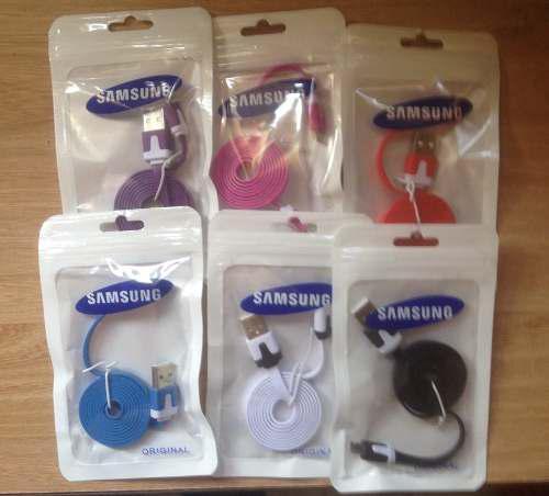 Cable Micro Usb Para Samsung Planos (mayor 100 Unidades)