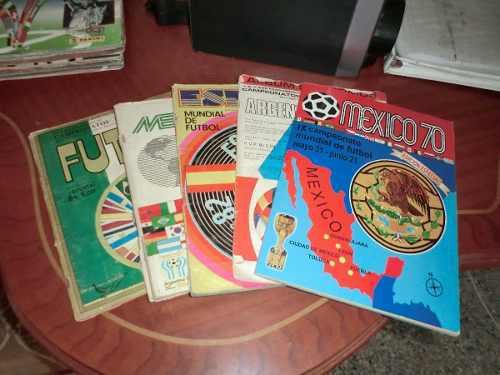 Coleccion Album De Mundial De Fútbol Totalmente Llenos