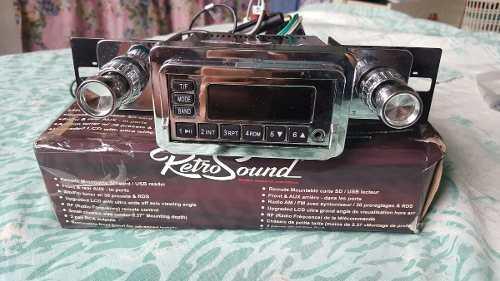 Radio Reproductor Para Carros Antiguos