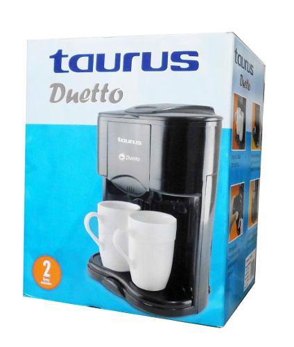 Cafetera Eléctrica Taurus Dueto De 2 Tazas. Casi Nueva