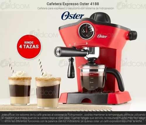 Cafetera Electrica Cafe Espresso Oster