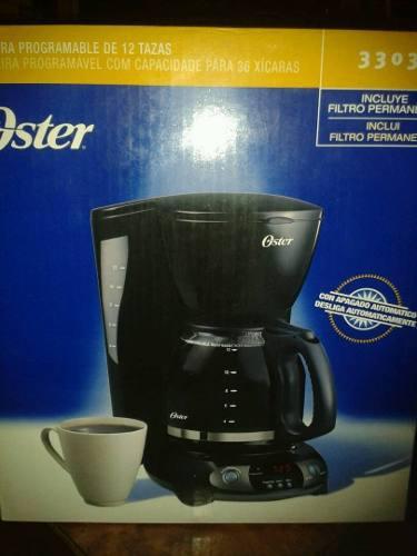 Cafetera Electrica Programable Oster 12 Tazas Nueva