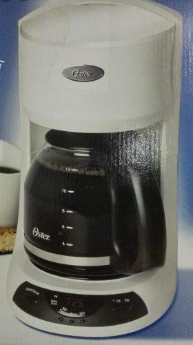 Cafetera Programable 12 Tazas Color Blanca Oster 3197
