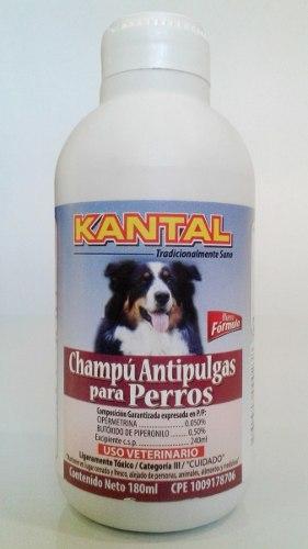 Champú Antipulgas Para Perros Kantal 180ml Oferta