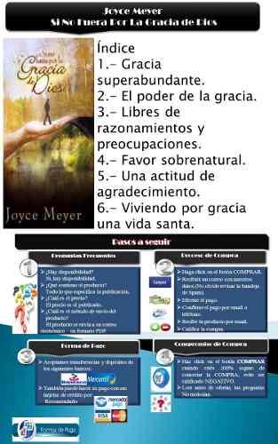 Joyce Meyer Si No Fuera Por La Gracia De Dios