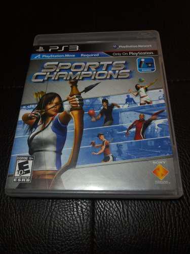 Juego Fisico Sports Champios Para Playstation 3