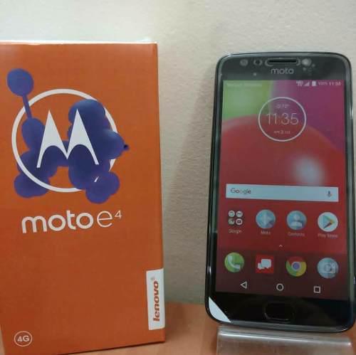 Motorola Moto E4 De Huella. Nuevos Y Liberados