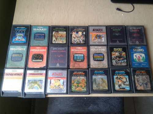 Vendo Juegos De Atari Usados
