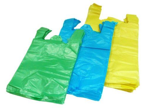 Bolsas Plásticas Tipo Camiseta Con Asa 2kg 3kg 5kg 10kg