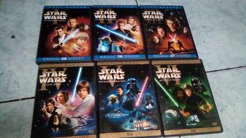 Colección De Películas De La Saga Star Wars