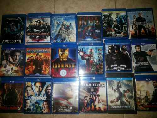 Combo De 49 Peliculas En Blu Ray