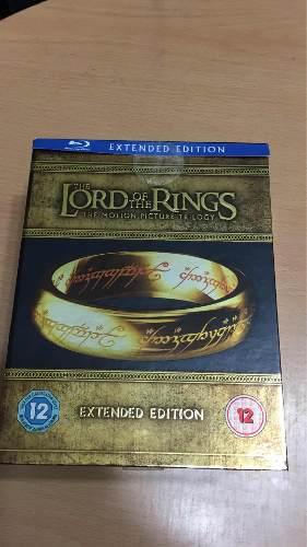 El Señor De Los Anillos Trilogy Extented Bluray Box Set 15d