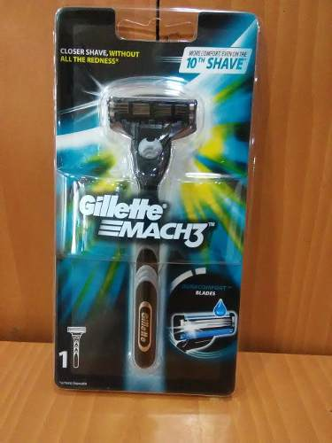 Maquina De Afeitar Gillette Mach3 Original Y Cartuchos De 4