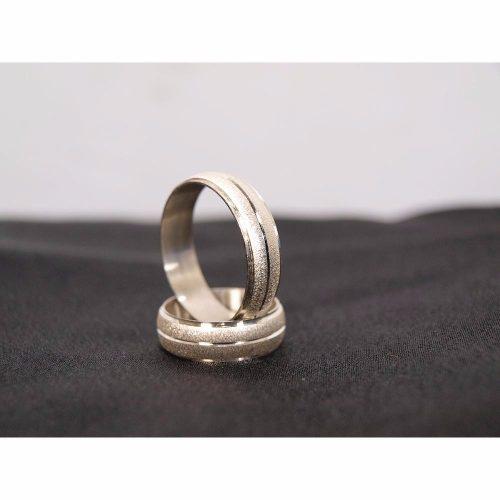 Anillos De Matrimonio Plata 950 Garantizada (par De Anillos)