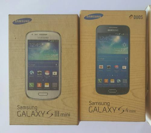 Cajas De Telefonos Samsung Galaxy S3 Mini S4 Mini