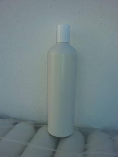 Envases Plásticos 480 Ml Blanco Leche Con Su Tapa Disk Top