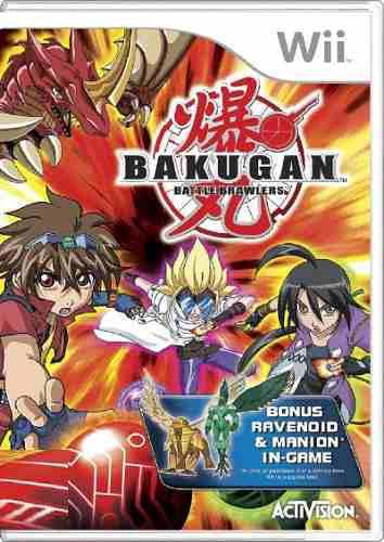 Juego Original Bakugan Battle, Consolas Wii Y Wii U]