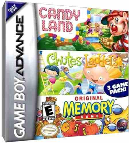 Juego Original Candy, Chutesand, Memory Game Boy Advance