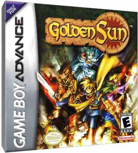 Juego Original Golden Sun Game Boy Advance