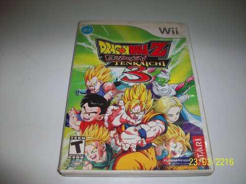 Juego Para Nintendo Wii Dragon Ball Z: Budokai Tenchaichi 3