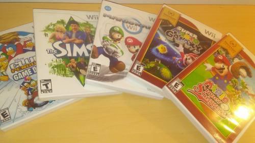 Juegos Para Nintendo Wii Originales, Usados