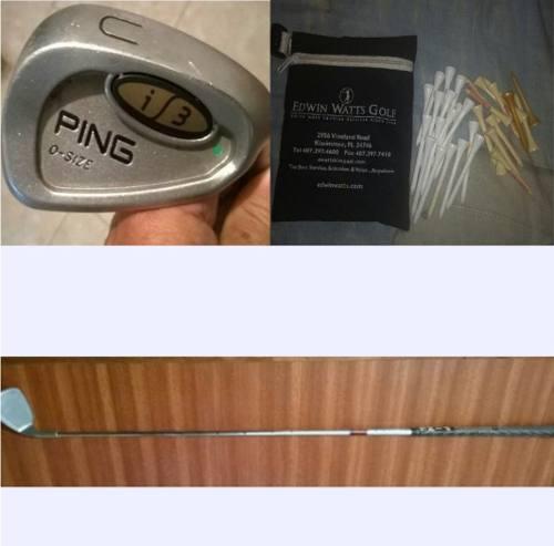 Palo De Golf Ping I3 O-size U Wedge Green Dot,