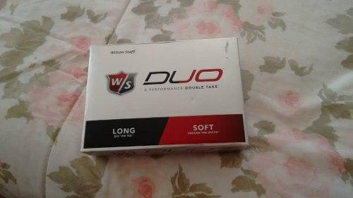 Pelotas De Golf Wilson Duo