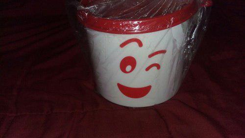 Pote, Envase, Taza Tupperware + 2 Vasos Gigantes Amor
