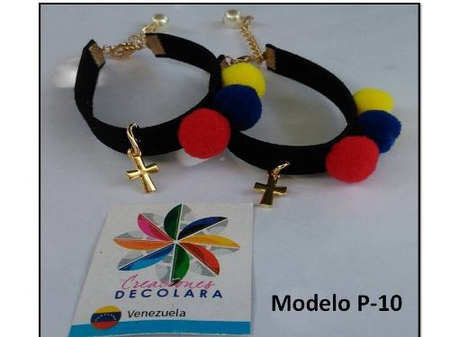 Pulseras De Venezuela / Tricolor.