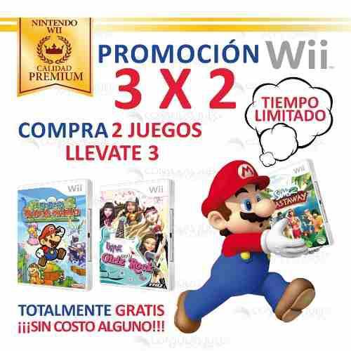 Super Paper Mario Y Mas Juegos Originales Nintendo Wii Wiiu