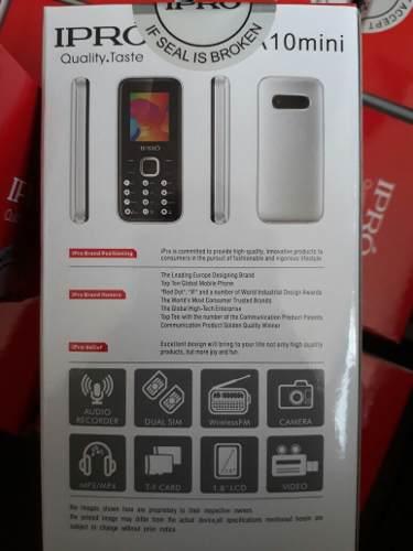 Telefono Basico Ipro A10mini Dual Sim. Y Mucho Mas Leer Desc