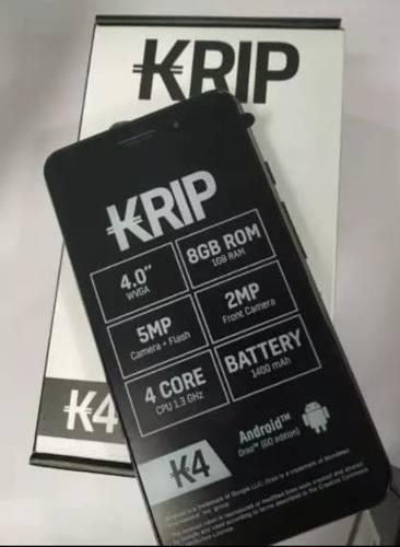 Telefono Celular Android Krip K4 Whatsapp 8gb (60)
