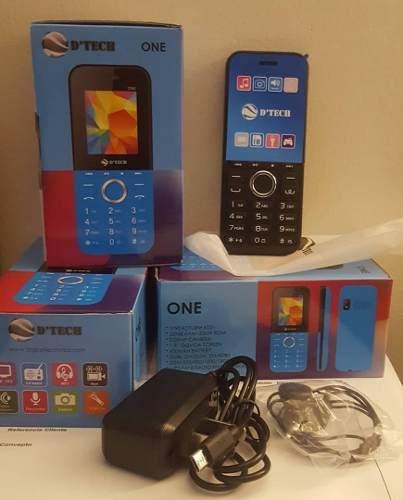 Telefono Celular Basico D'tech One Dual Sim Liberado
