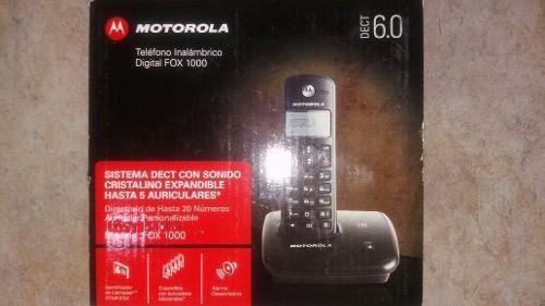 Telefono Inalambrico Motorola Digital Fox 1000 Nuevo