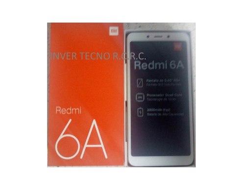 Telefono Xiaomi Redmi 6a Quaqcore 2gb+16gb Pant mp