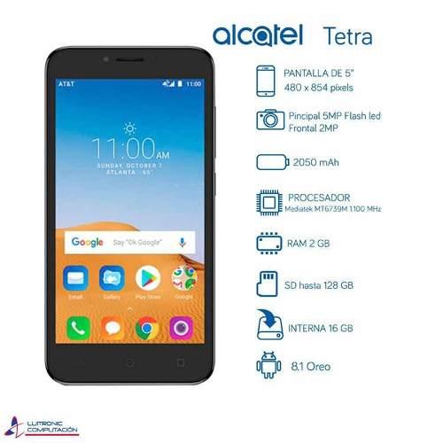 Teléfono Celular Alcatel Tetra Smartphone Android 8 Valera