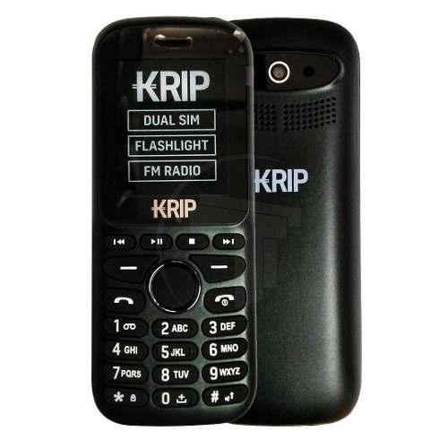 Teléfono Celular Dual Sim Krip K1 Negro Tt