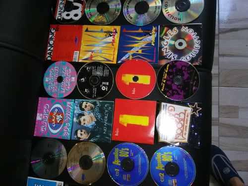Cd Originales Colección De Los 80s