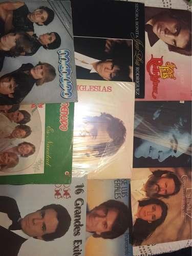 Discos De Vinil Lote De 54 (lote Completo)
