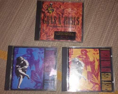 Guns N Roses Illusions I & I I + Spagueti Incident Cds