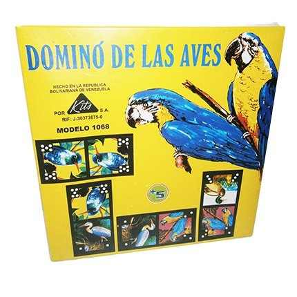 Juego Domino De Las Aves