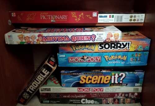 Juegos De Mesa, Diversos Y Para Diferentes Edades